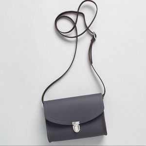Push Lock in Leather - Storm Matte.